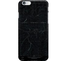 USGS TOPO Map Alaska AK Lookout Ridge C-5 357182 1984 63360 Inverted iPhone Case/Skin