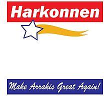 Baron Harkonnen for President Photographic Print