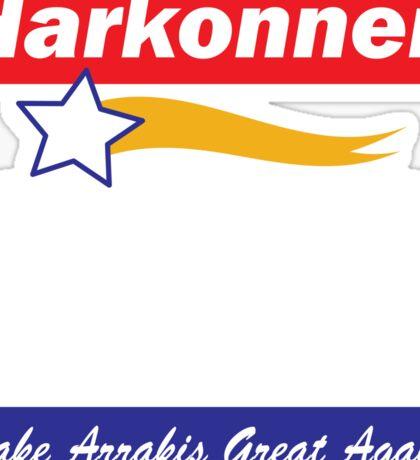 Baron Harkonnen for President Sticker