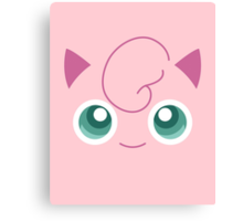 Pokemon: Jigglypuff Canvas Print