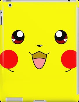 Eyes on Me - Pikachu by jebez-kali