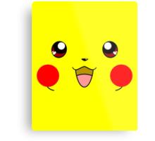 Eyes on Me - Pikachu Metal Print