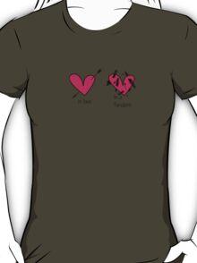 In a Fandom T-Shirt