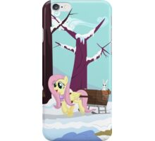 Fluttershy Winterdream iPhone Case/Skin