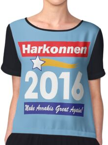 Baron Harkonnen for President Chiffon Top