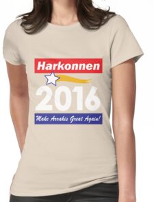 Baron Harkonnen for President Womens Fitted T-Shirt