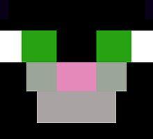 Minecraft Cat Design by SpartaKitty