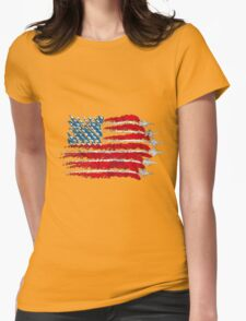 plane Womens Fitted T-Shirt