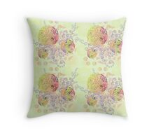 Lollipop Mandalas Throw Pillow