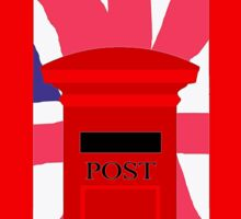 LONDON TELEPHONE BOX and POST BOX Sticker