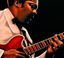 B. B. King painting Sticker