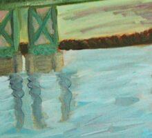 Bridge Over the Mississippi Sticker