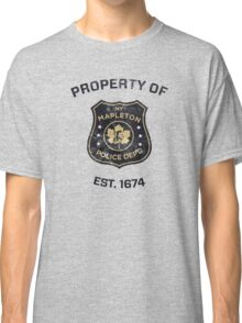 Property of Mapleton Police Dept. - The Leftovers Classic T-Shirt