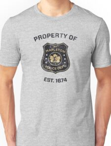 Property of Mapleton Police Dept. - The Leftovers Unisex T-Shirt
