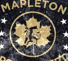 Property of Mapleton Police Dept. - The Leftovers Sticker