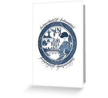 Fellowship of the Ring Greeting Card