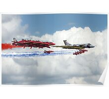 Reds Arrows with XH558 Poster