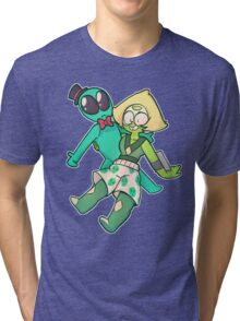 Peridot Ufo Tri-blend T-Shirt