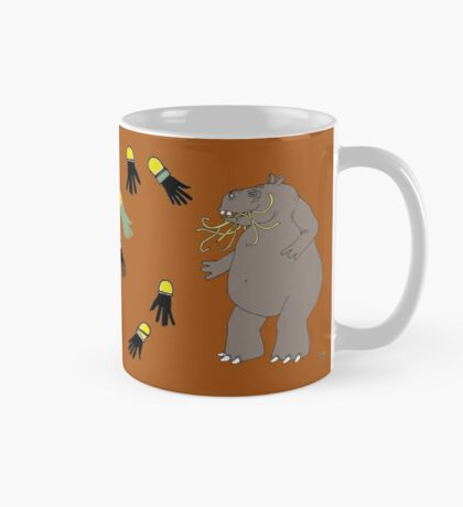 Hungry Hungry Hippo Escapes Picture Plane! Mug