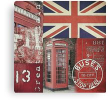 Very british Canvas Print