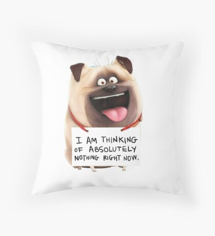 Mel Secret Life of Pets Throw Pillow