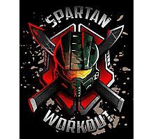 Spartan Workout Photographic Print