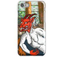 Gothic Grotesque Devil iPhone Case/Skin