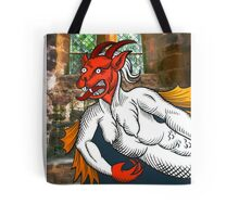 Gothic Grotesque Devil Tote Bag