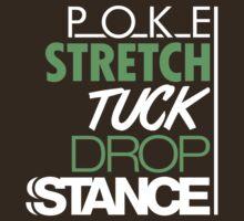 POKE STRETCH TUCK DROP STANCE (2) by PlanDesigner