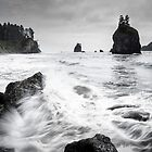 Waves - Olympic National Park by Brent Olson