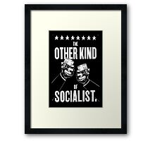 The Other Kind of Socialist - Drinking! Framed Print
