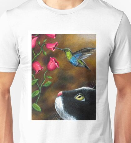 Cat 571 Hummingbird Unisex T-Shirt