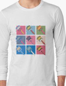 Pop Paintbrush Long Sleeve T-Shirt
