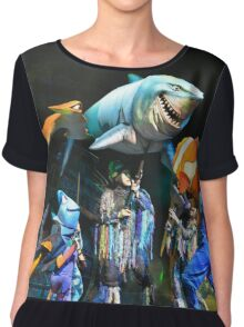 Shark Gang and Fish Friends - Finding Nemo: the Musical Chiffon Top
