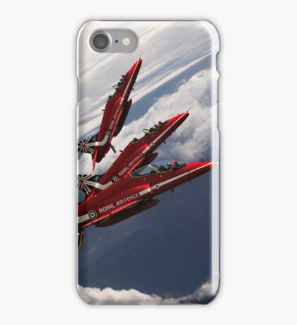 Red Arrows Trio iPhone Case/Skin