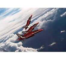 Red Arrows Trio Photographic Print