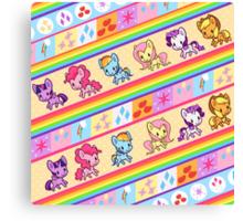Pony Trot Canvas Print