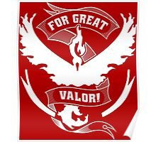 For Great Valor! Poster