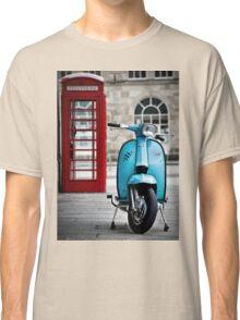 Italian Light Blue Lambretta GP Scooter Classic T-Shirt