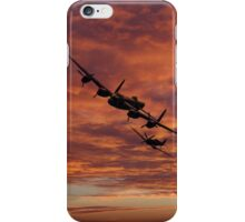 Lancaster Spitfire Shadow iPhone Case/Skin
