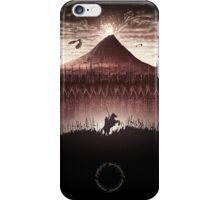 Lord of the Rings - Ring Design Red iPhone Case/Skin