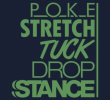 POKE STRETCH TUCK DROP STANCE (6) Kids Clothes