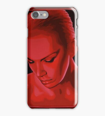 Annie Lennox painting iPhone Case/Skin
