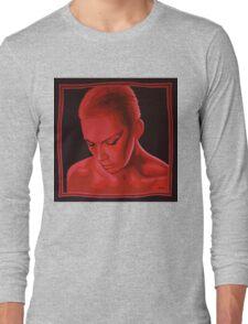 Annie Lennox painting Long Sleeve T-Shirt
