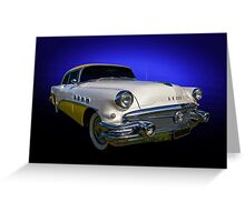 1956 Buick Greeting Card