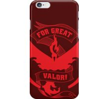 For Great Valor! iPhone Case/Skin