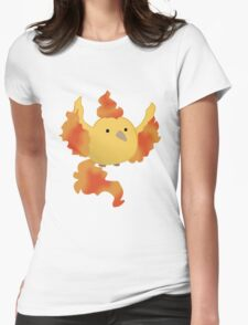 fire borb Womens Fitted T-Shirt