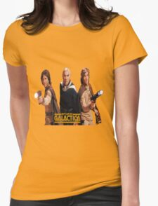 galactica Womens Fitted T-Shirt