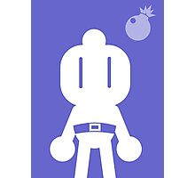 Retro Hero Series #7: Bomberman Photographic Print