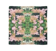 zephyr green and pink  Scarf